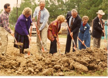 Breaking ground for Atascocita Branch Library